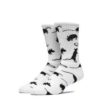 Picture of HUF RAT RACE CREW SOCK