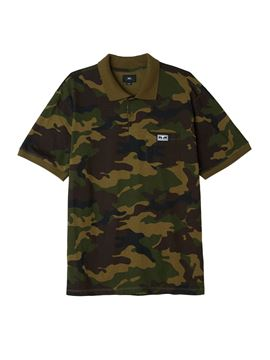 Picture of OBEY ALL EYEZ CAMO POLO