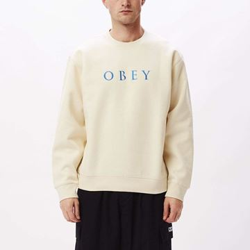 Picture of OBEY CURTIS CREW FLEECE