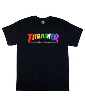 Picture of THRASHER RAINBOW TEE