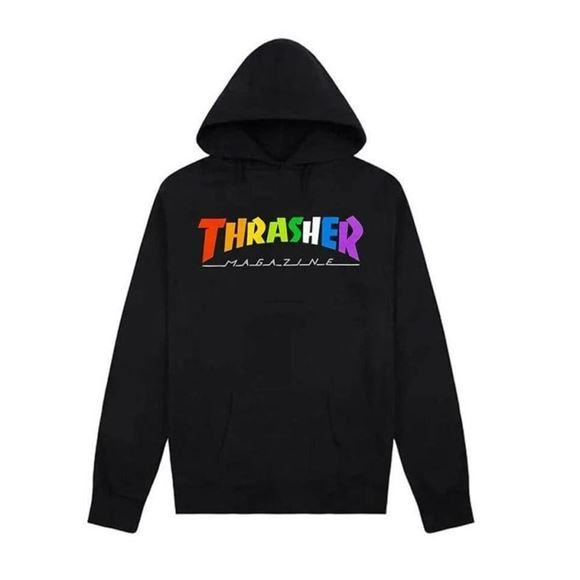 Picture of THRASHER RAINBOW HOOD